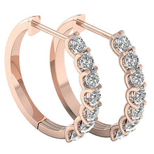Load image into Gallery viewer, Diamonds Rose Gold Earring-DE102