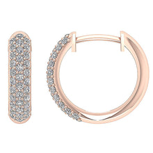 Load image into Gallery viewer, Hoops 14K Rose Gold Earring-DE227