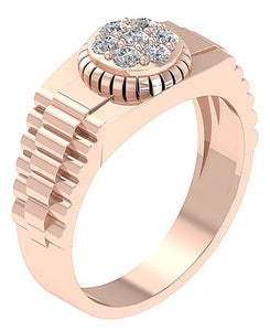 Anniversary Ring Rose Gold-MR-11