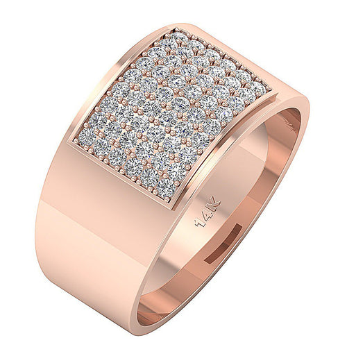 Rose Gold Wedding Band-MR-19