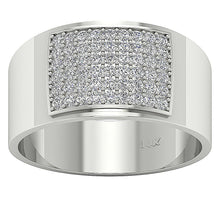 Load image into Gallery viewer, Top View Diamonds Ring-MR-19