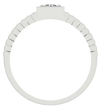 Load image into Gallery viewer, Front View White Gold Ring-MR-78
