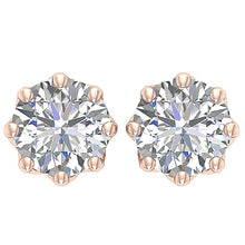 Load image into Gallery viewer, Round Diamonds Earrings-DST102