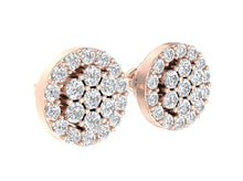Load image into Gallery viewer, Diamond Earring-E-433