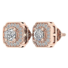 Load image into Gallery viewer, Rose Gold Vintage Studs Earring-DE212