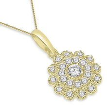 Load image into Gallery viewer, Fashion Pendants SI1 G 0.65 Ct 14k/18k White Yellow Rose Gold Natural Diamond