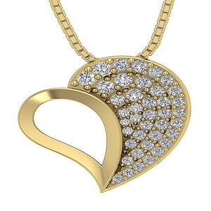 Natural Diamond Pendants-DP254