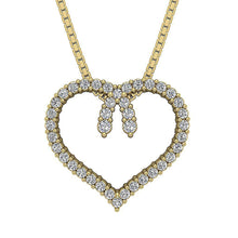 Load image into Gallery viewer, Front View Natural Diamond Pendants-DP392