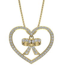 Load image into Gallery viewer, Genuine Diamonds Pendant 14k Yellow Gold