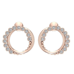 Antique Style Earring Set 14k Rose Gold