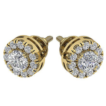 Load image into Gallery viewer, Designer Style Earring Set 14k Yellow Gold