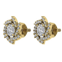 Load image into Gallery viewer, Antique Style Earring Set 14k Yellow Gold