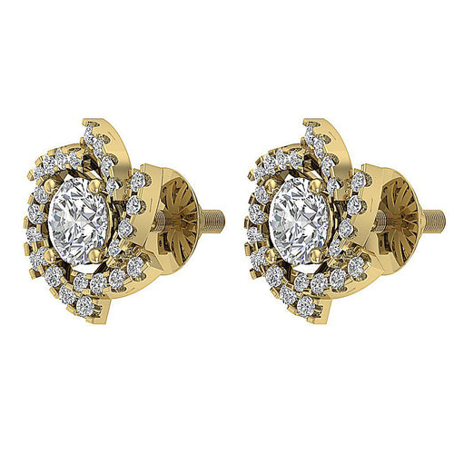 Antique Style Earring Set 14k Yellow Gold