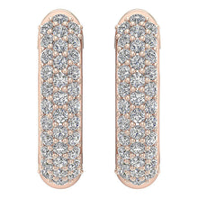 Load image into Gallery viewer, Natural Diamond Earring Rose Gold-DE227