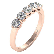 Load image into Gallery viewer, Round Diamonds Wedding Ring-FR-67