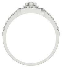 Load image into Gallery viewer, Bezel Setting Diamond Ring-MR-5