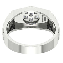 Load image into Gallery viewer, Back Side View Wedding Ring-MR-11