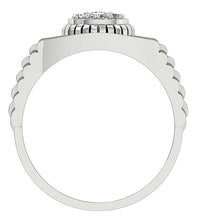 Load image into Gallery viewer, Prong Setting White Gold Ring-MR-11