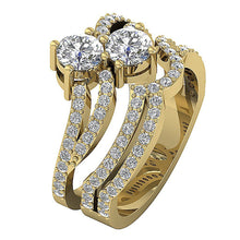 Load image into Gallery viewer, Designer Couple Ring-DCR128