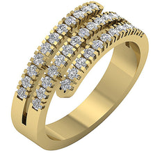 Load image into Gallery viewer, Designer Anniversary Ring 14k Solid Gold-RHR-45-3