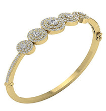 Load image into Gallery viewer, Natural Diamonds Yellow Gold-DBR41