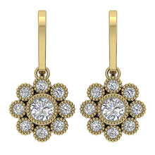 Load image into Gallery viewer, Natural Diamonds Earrings-DE108
