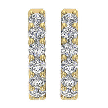 Load image into Gallery viewer, Natural Diamond Yellow Gold Earring-E-404A