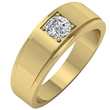 Load image into Gallery viewer, Cross View Yellow Gold Ring-DMR3