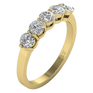 Round Cut Diamond Ring-FR-67