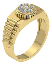 Load image into Gallery viewer, Round Cut Diamond Ring-MR-11