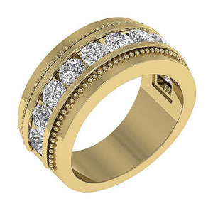 Round Diamond Ring-MR-89-2.00Ct