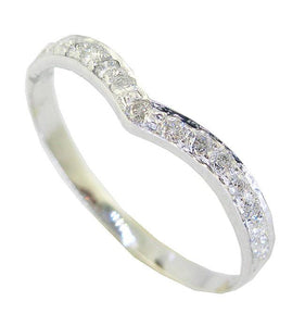 Designer Natural Diamond White Gold Ring