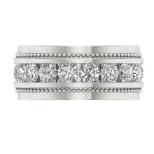 Load image into Gallery viewer, 14k White Gold Anniversary Ring-MR-89-2.00Ct