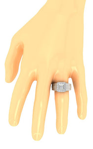 Wedding Ring On Hand-MR-5