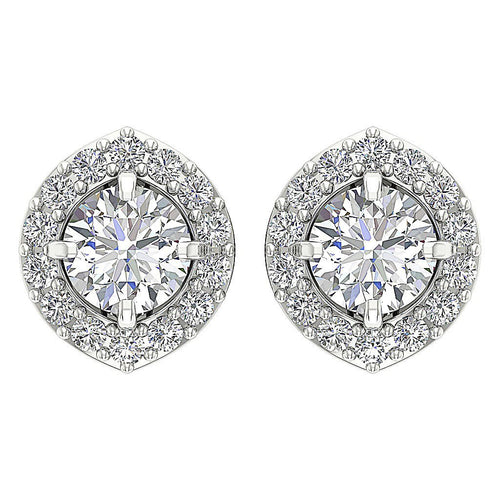 Solitaire Removable Jacket Earrings-DE172