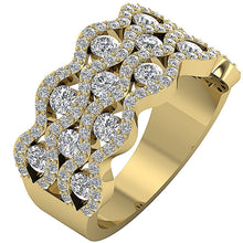 Load image into Gallery viewer, 14k Yellow Gold Natural Diamond Ring
