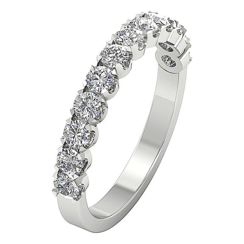 Designer Petite Ring 14k White Gold