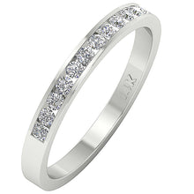 Load image into Gallery viewer, Designer Petite Ring 14k White Gold