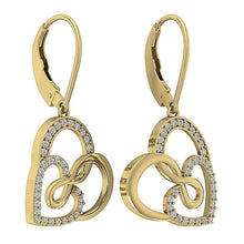 Load image into Gallery viewer, 14k Yellow Gold Designer Earring Set