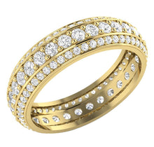 Load image into Gallery viewer, 14k Yellow Gold Vintage Eternity Ring