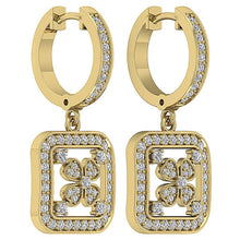 Load image into Gallery viewer, Natural Diamond Earring Set 14k Yellow Gold