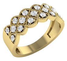 Load image into Gallery viewer, EngagementYellowGoldDiamondRing-WR-482