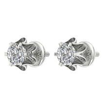 Load image into Gallery viewer, Screw Back Stud Earrings-DE191