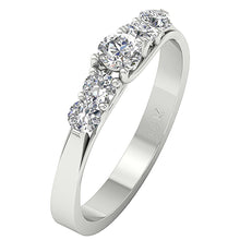 Load image into Gallery viewer, Designer Engagement Ring White Gold-DFR40
