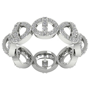 Natural Round Diamonds Top View Ring-DETR271