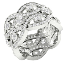 Load image into Gallery viewer, Etarnity 14k White GOld Ring-DETR203
