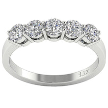 Load image into Gallery viewer, Designer Prong Setting Wedding Ring-FR-67