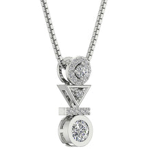 Load image into Gallery viewer, Designer Round Diamond Fashion Pendants-DP403