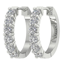 Load image into Gallery viewer, Designer Natural Diamond Earring-E-404A