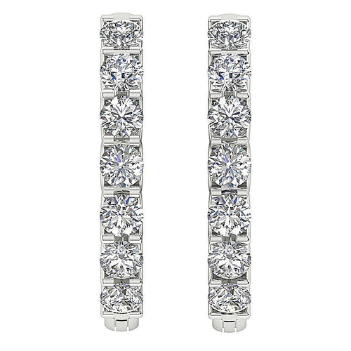 Natural Diamond Earring-DE102